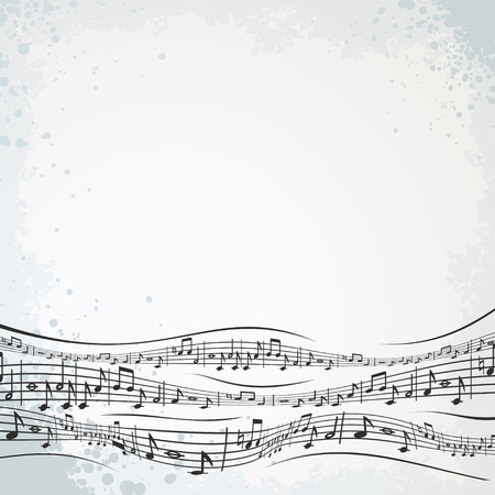 Abstract musical composition for your text or design