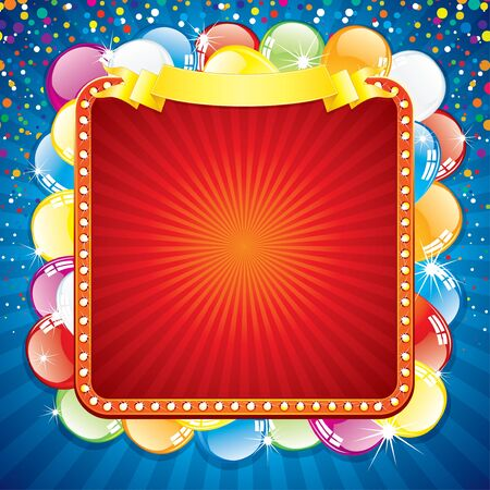 Festive Colorful Background For your Text Stock Vector - 9569682