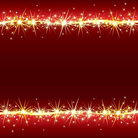 Bright Sparkling Vector Background with Stars Stock Vector - 9932844
