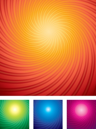 sunrays: Brightly Vector Background