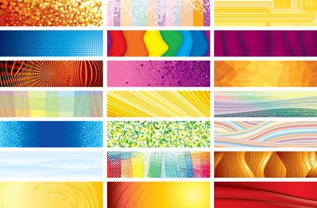 Horizontal Vector Banners Stock Vector - 13510533