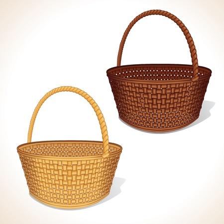 entwine: Vector Basket isolato Vettoriali