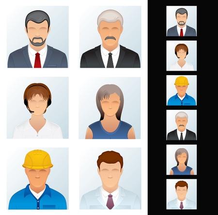 female scientist: People Icon  Avatars of Various People Occupations