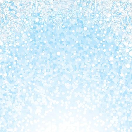 Christmas Snowflakes Background Background