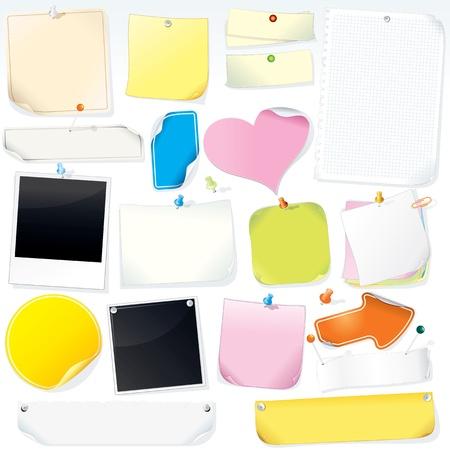 memory board: Notas de papel, pegatinas, etiquetas y Memo Sticks