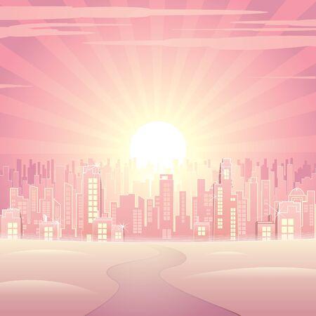 Dream City Illustration Stock Illustration - 18467154