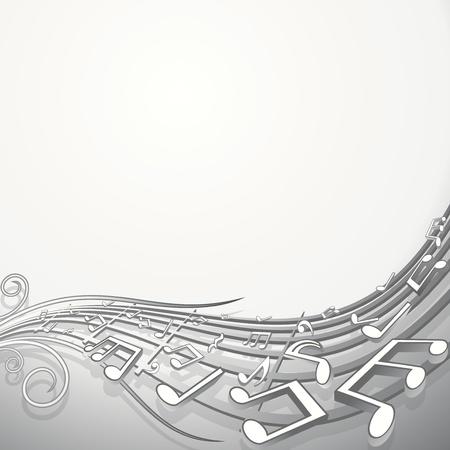 music notation: Music Wave Theme