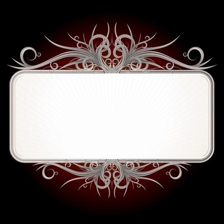 Vintage Gothic Sign Stock Photo - 18467166