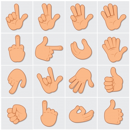Human Hand Gestures Clip Art photo