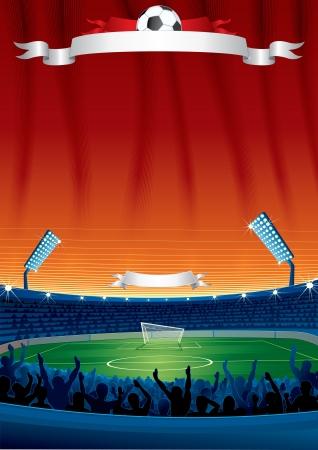 Fußball-Hintergrund Template