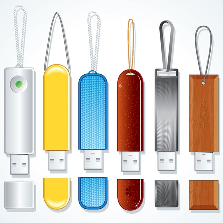 Usb Sticks  Flash Memory Drive Collection  photo