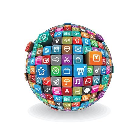 Apps Sphere Vector Vector