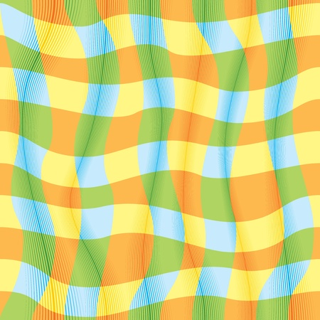 checked: Funky pattern