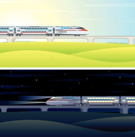 High Speed Train Pictures Illustration illustration