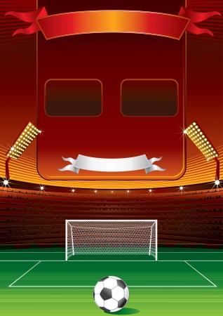 Football Scoreboard photo