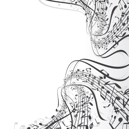 notation: Musical Notes Background