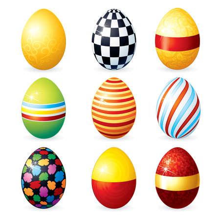 vector eggs: Painting Vector Eggs