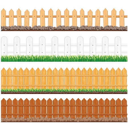 garden fence: Wooden Fence Collection
