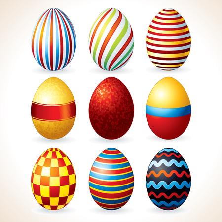 Easter Eggs Set. Clip Art photo