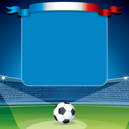uefa: France Euro 2016. Soccer Abstract Background. Ready for Your Text and Design.
