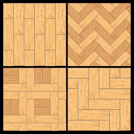 Nahtlose Muster. Holzparkett, Holzfußboden. Setzen Sie bereit für Ihren Text und Design.