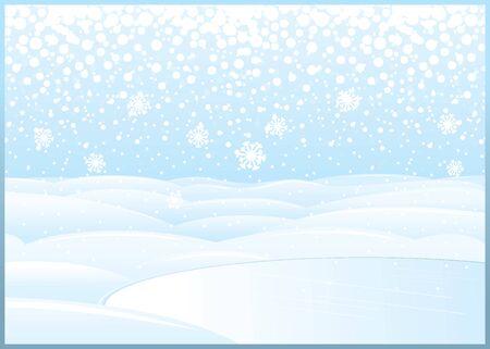 windless: Clean Winter Landscape with Frozen Lake