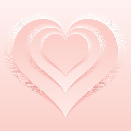 light pink: Soft and Light Pink Color Valentine Day Backdrop Illustration