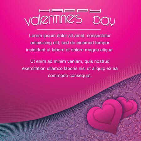 romance: Valentines Day Violet Background