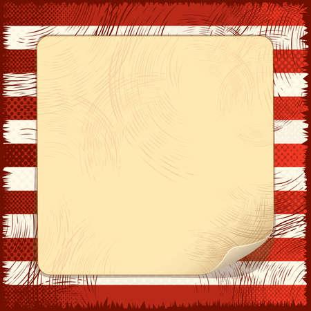 paints: Background Grunge USA Flag Illustration