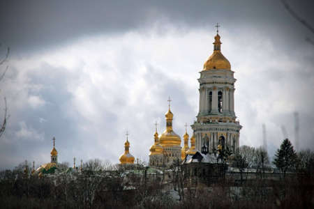Ancient monastery in Kiev, Ukraine, Kiev-Pechersk Lavra photo