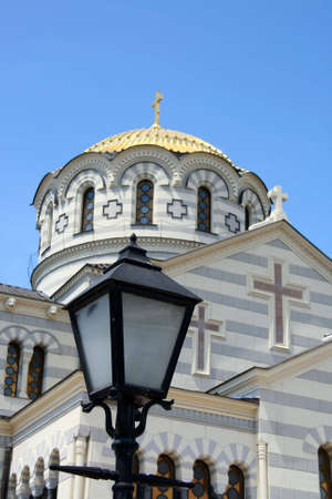 Great orthodox cathedral of st. Vladimir at Hersones, Crimea, Ukraine Stock Photo - 5127785