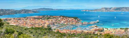 Breathtaking view on Palau port and La Maddalena island. Location: Palau, Province of Olbia-Tempio, Sardinia, Italy, Europe