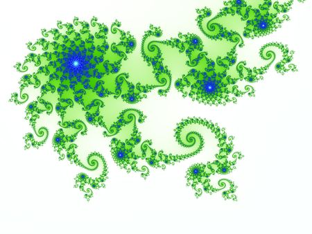 Computer-generated fractal design using the julia set mathematic formula Stock Photo - 6730786