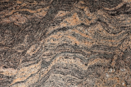 black granite: close-up of beautiful natural design of granite