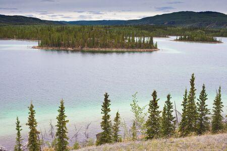 Twin Lakes, Yukon Territory, Canada