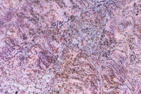 Close-up of beautiful natural design of granite. photo