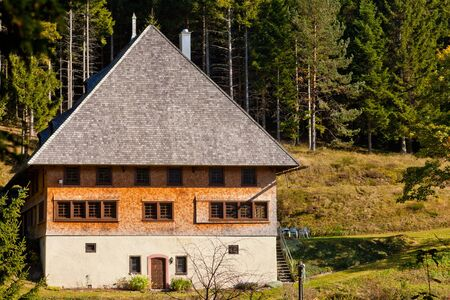 Traditional style architecture in Black Forest, rural Germany Stock Photo - 14375888