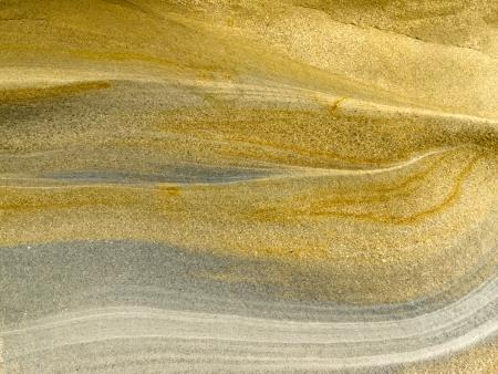 Glad oppervlak van gelaagde zandsteen sediment rock achtergrond textuur patroon