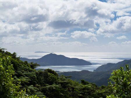 Beautiful coastal landscape of Coromandel Peninsula, North Island, New Zealand