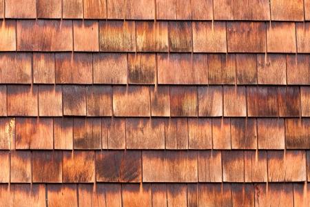 cedro: Westen cedro rojo del fondo tejas textura patrón hace un revestimiento orgánico natural de la pared de madera para edificios residenciales