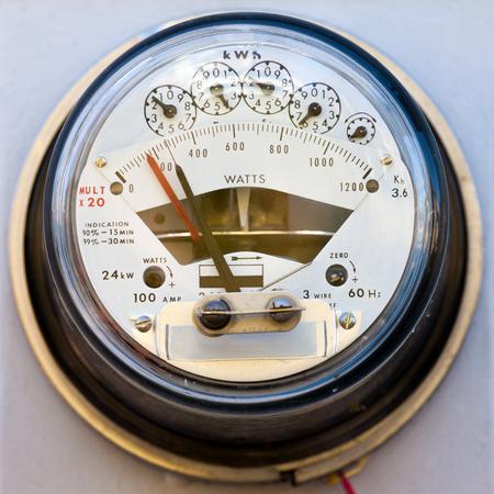 contador electrico: Marque el tipo de hogar residencial suministro de energía kWh de electricidad metros primer por detalles