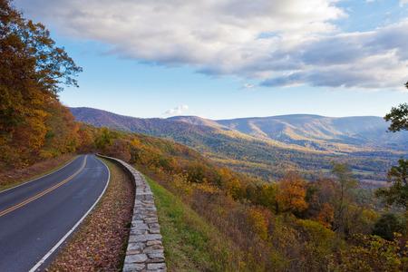 Skyland Drive, Parque Nacional Shenandoah, Virginia, VA, EE.UU.