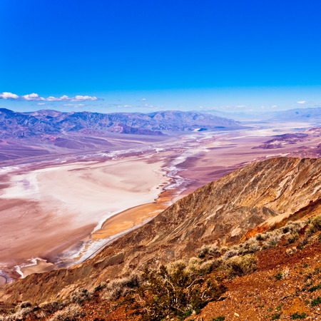 valley view: Death Valley from Dantes View, Death Valley National Park, California, CA, USA