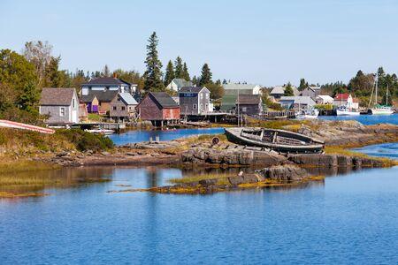 coastal: Blue Rock fishing village in Nova Scotia, Canada, near Lunenburg