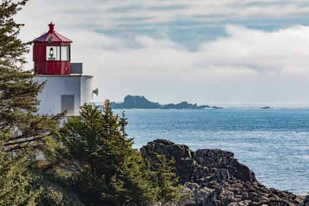 Ucluelet Lighthouse on Vancouver Island BC Canada