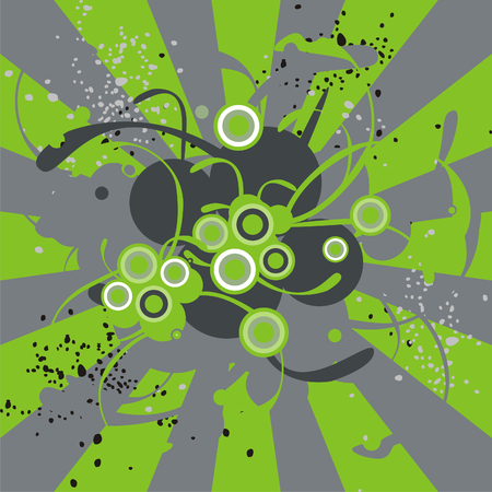 fully editable abstract grunge background vector illustration Stock Vector - 6795795