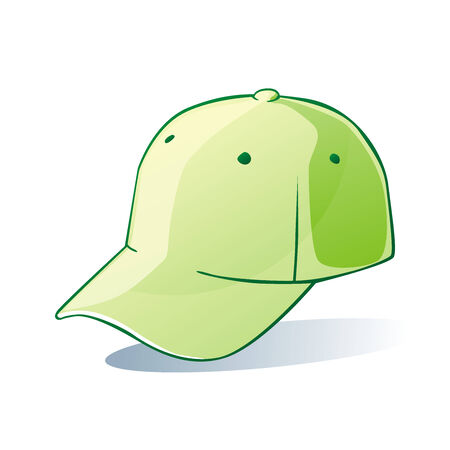 customized: fully editable vector illustration of isolated hat