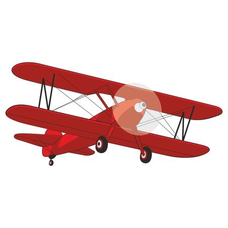 transporteur: illustration enti�rement modifiable avion