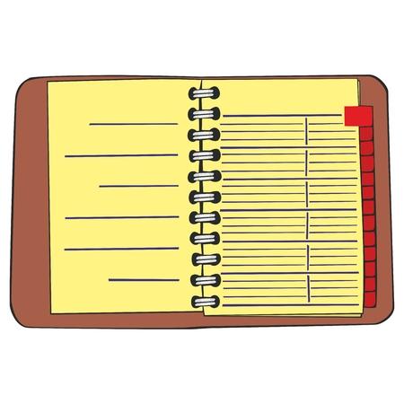 moles: fully editable  illustration notebook