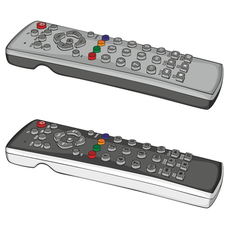 fully editable illustration remote control Vector